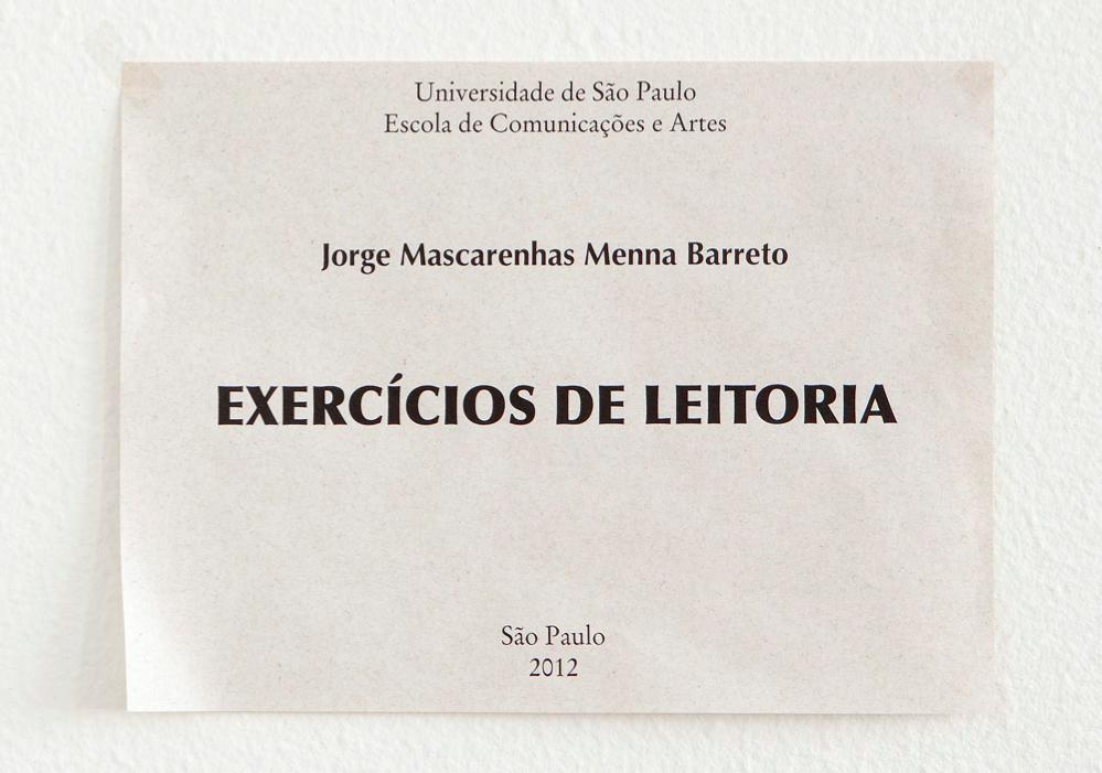 Exercícios de Leitoria